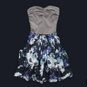 Abercrombie kids strapless dress